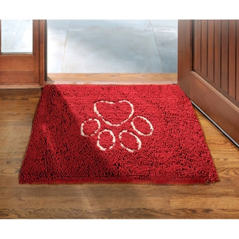 Dog Gone Smart Pet Dirty Dog Doormat Maroon 35in X 26in