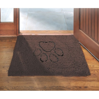 Dog Gone Smart Pet Dirty Dog Doormat Brown 31in X 20in