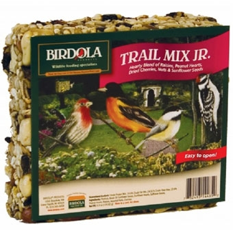 Birdola Trail Mix Jr. Seed Cake 7.5 Oz
