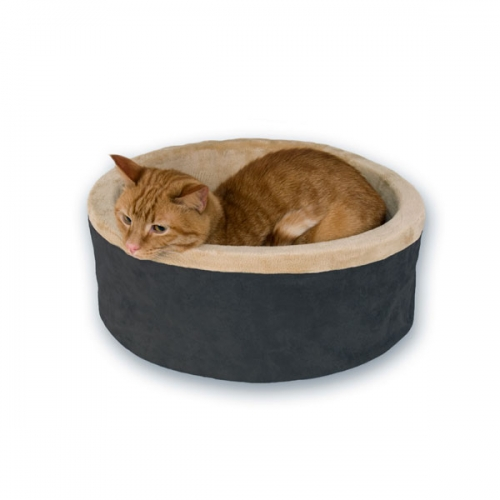 K&h Thermo-kitty Bed Small 16in Mocha