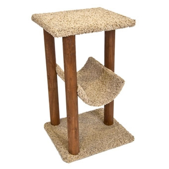 Ware Wood Scratch-n-lounge For Cats