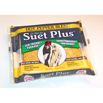 Suet Plus® Hot Pepper Blend Suet Cake (11 Oz)