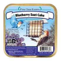 Blueberry Suet Cake 12oz