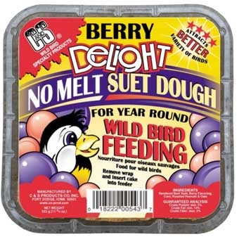 C&s Berry Delight No Melt Suet Dough 11.75 Oz