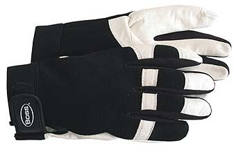 Spandex Leather Plm Glove Medium