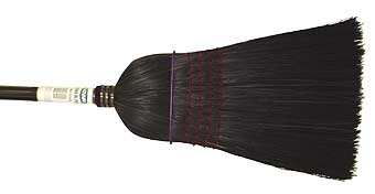 Agway #9 Barn Broom - Black