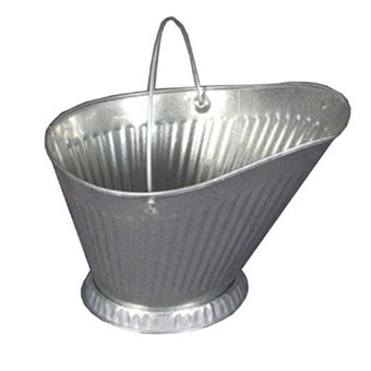 Behrens Galvanized Coal Hod