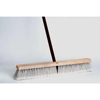 Dqb Floor Sweep Fine Push Broom 18in
