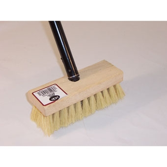 Qb Roof Brush With Handle 7in