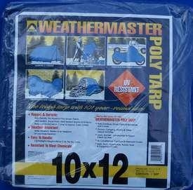 Blue Poly Tarp 10ft X 12ft