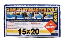 Blue Poly Tarp 15ft X 20ft