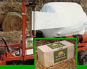 Sunfilm Silage Wrap White 20ft X 6000ft