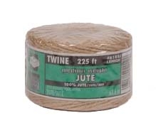 Jute Twine Medium Weight Natural 225ft
