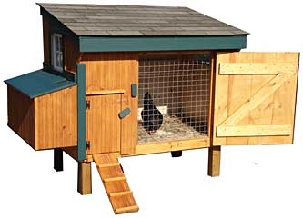 Lancaster Chicken Coop 3 X 5ft Small Cedar