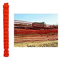 Economy Safety Fence Orange 4ft X 50ft