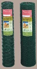Hex Netting Green 1x24x50 20ga