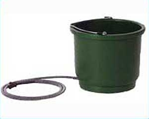 Heated Round Green Bucket 2 Gal