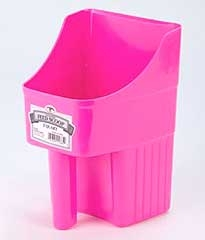 Enclosed Feed Scoop Hot Pink 3qt
