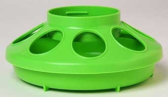 Apple Green Plastic Feeder Base 1qt