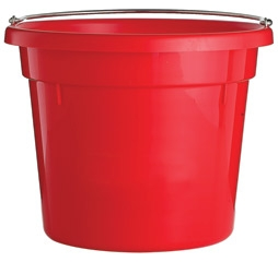 Little Giant Utility Bucket 10qt Red