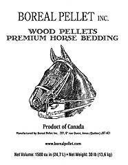 Wood Pellet Horse Bedding 30lb