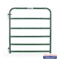 6 Bar Economy Tube Gate Green 4ft