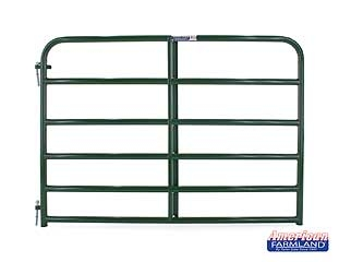 6 Bar Economy Tube Gate Green 6ft