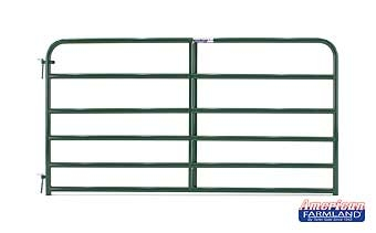 6 Bar Economy Tube Gate Green 8ft