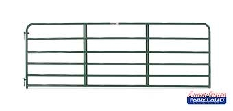 6 Bar Economy Tube Gate Green 12ft