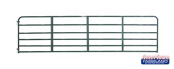 6 Bar Economy Tube Gate Green 16ft