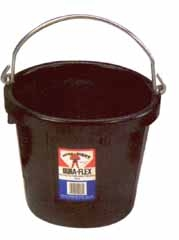 Duraflex Rubber All Purpose Pail 8 Qt