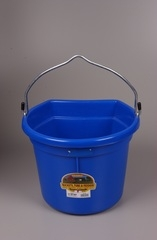 Duraflex Flat Back Bucket Blue 22 Qt