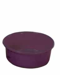 Red Plastic Feed Pan 5qt