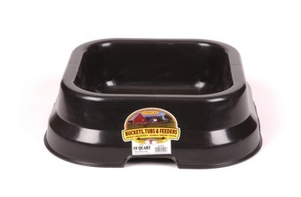 Black Feed Pan 10qt