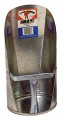 Little Giant Galvanized Feed Scoop 6qt