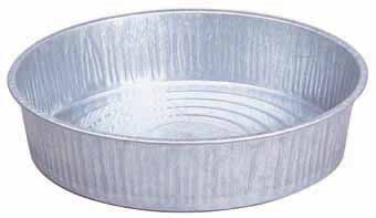 Galvanized Feed Pan 13qt