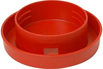 Little Giant® Quart Water Base for Quail (Red)