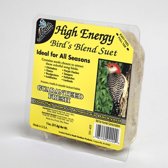 Heath High Energy Bird's Blend Suet 11oz