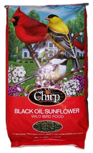 Chirp Black Oil Sunflower Seed 50lb