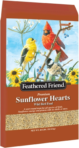 Feathered Friend Sunflower Heart 40lb