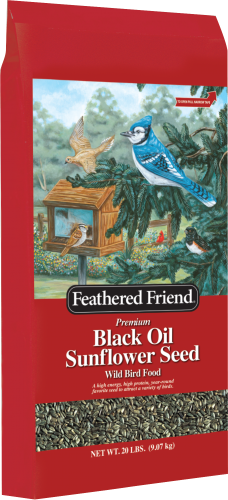 Feathered Friend Black Oil Sunflower 20lb
