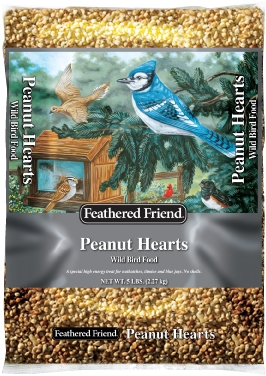 Feathered Friend Peanut Hearts 5lb