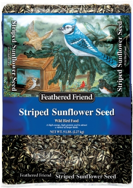 Feathered Friend® Grey-Striped Sunflower (5#)