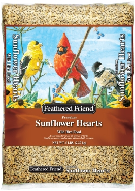 Feathered Friend Sunflower Hearts 5lb