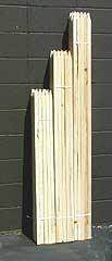 5 Foot Tall-Hardwood Stakes