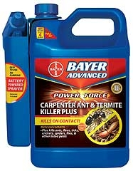 Bayer Advanced Power Force Carpenter Ant And Termite Killer Plus Rtu 1.3gal