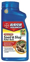 Bayer Advanced Dual Action Snail And Slug Killer Bait Rtu 1.5lb