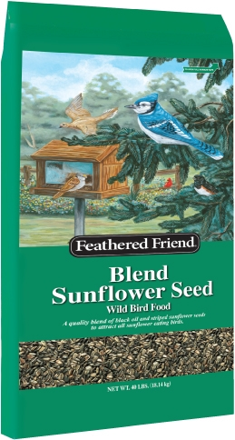 Feathered Friend Blend Sunflower 40lb