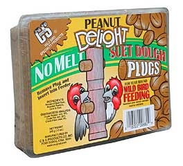 C&s Peanut Delight Suet Dough Plug