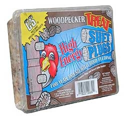 Woodpecker Treat Suet Plug